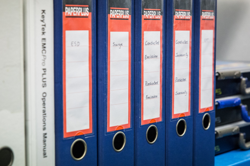 Voor iedere test is een handleiding geschreven welke de volledige test beschrijft.